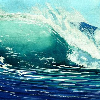 THE-WAVE-26-x-39-watercolour